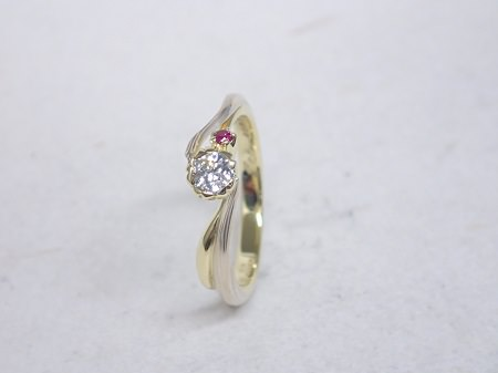 140831005木目金の婚約指輪_G001.JPG