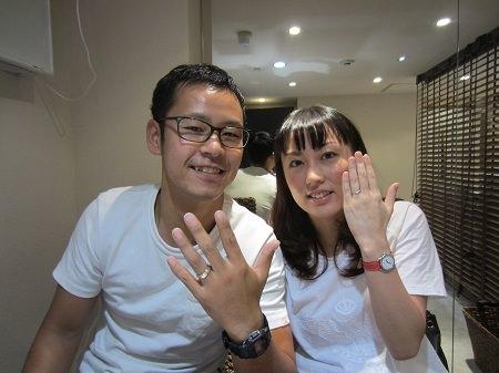 14093001木目金の結婚指輪K_001.JPG