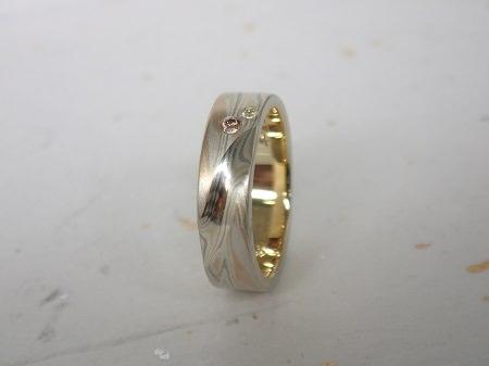 15013101木目金の結婚指輪_G002.JPG