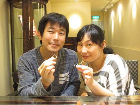 15092201木目金の婚約指輪と結婚指輪H_002.JPG