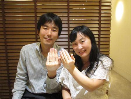15092201木目金の婚約指輪と結婚指輪H_003.JPG