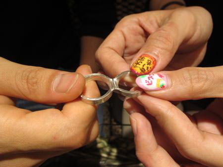 15101901木目金の婚約指輪と結婚指輪H_001.JPG