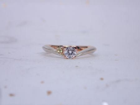 15101901木目金の婚約指輪と結婚指輪H_003.JPG