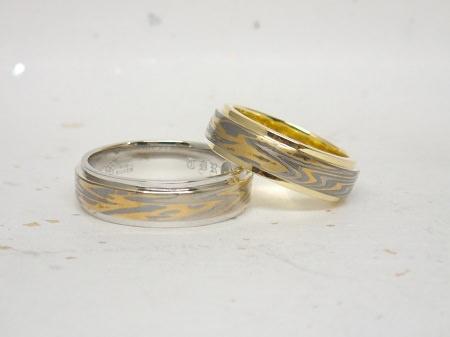 16062401木目金の結婚指輪_Y001.JPG