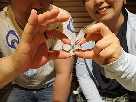 16062601木目金の婚約指輪と結婚指輪_F001.jpg