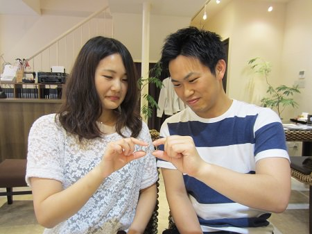 16062602木目金の婚約指輪・結婚指輪_A001.JPG