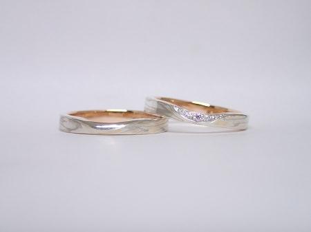 16062602木目金の結婚指輪_H001.JPG