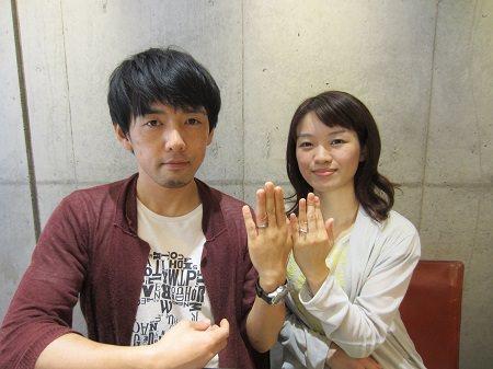16072901木目金の婚約指輪・結婚指輪U_001.JPG