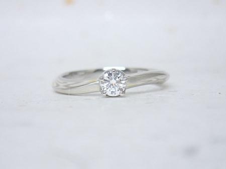 16073101杢目金の婚約指輪と結婚指輪D003.JPG