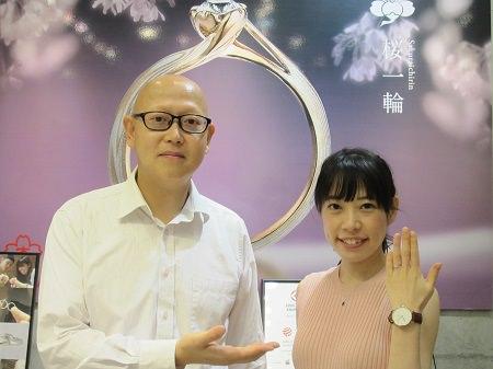 16081501木目金の婚約指輪_U001.JPG
