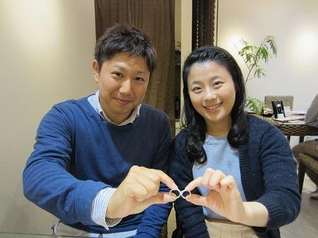 16102201木目金の婚約指輪と結婚指輪M_001.JPG
