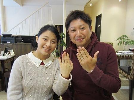 16102201木目金の婚約指輪と結婚指輪M_003.JPG