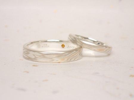 161023 木目金の結婚指輪.JPG