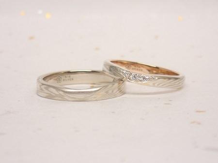 16102301木目金の結婚指輪_R003.JPG