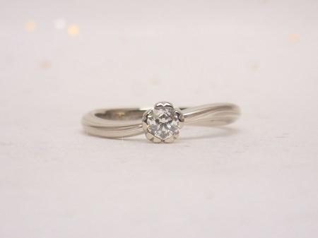 16102702木目金の婚約指輪、結婚指輪_K001.JPG
