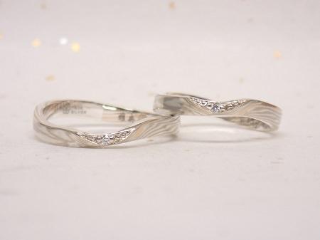 16102702木目金の婚約指輪、結婚指輪_K002.JPG