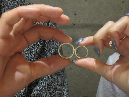 16112001木目金の婚約・結婚指輪_U001.JPG