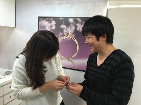 16122501木目金の婚約指輪と結婚指輪_Q002.JPG
