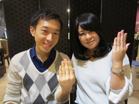 16122502木目金の婚約指輪と結婚指輪_A003.JPG
