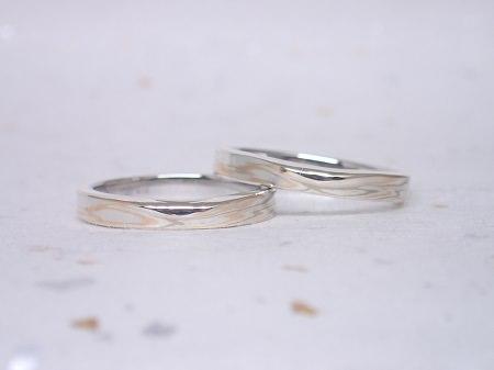 16122502木目金の婚約指輪と結婚指輪_A004②.JPG