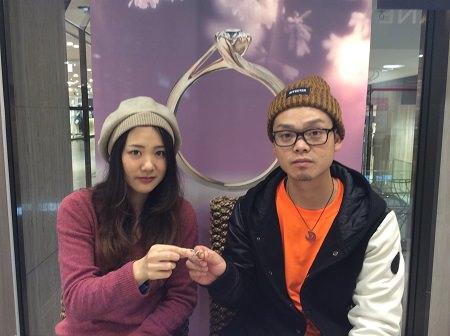17012301木目金の婚約結婚指輪_E001.JPG