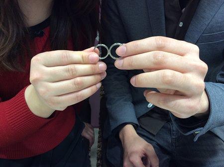 17012902木目金の結婚指輪_E001.JPG