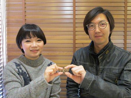 17021101木目金の婚約指輪と結婚指輪M_001.JPG
