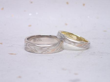17021101木目金の婚約指輪と結婚指輪M_004②.JPG