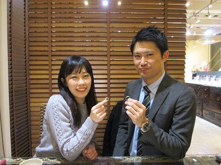 17031201木目金の婚約指輪と結婚指輪M_002.JPG