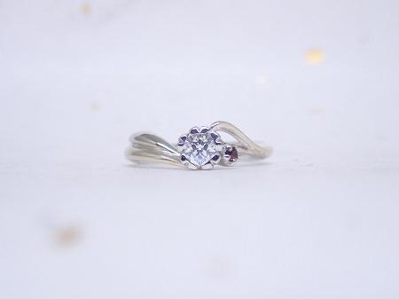 17031201木目金の婚約指輪と結婚指輪M_004②.JPG