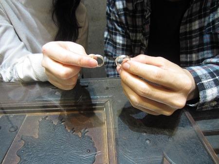 16010701木目金の結婚指輪U_003.JPG