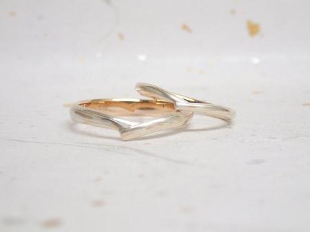 16083101木目金の婚約・結婚指輪005.JPG