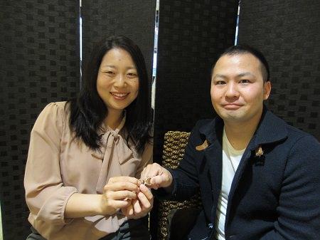 17043001木目金の婚約指輪と結婚指輪_A001.JPG