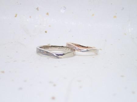 17041601木目金の婚約・結婚指輪_002.JPG