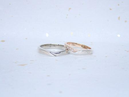 17061701木目金の結婚指輪と婚約指輪_D004.JPG