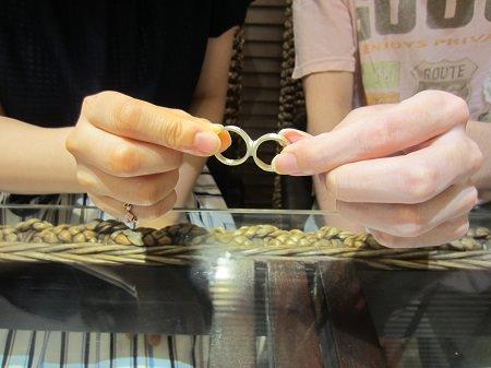 17070901木目金の婚約指輪と結婚指輪_A001.JPG