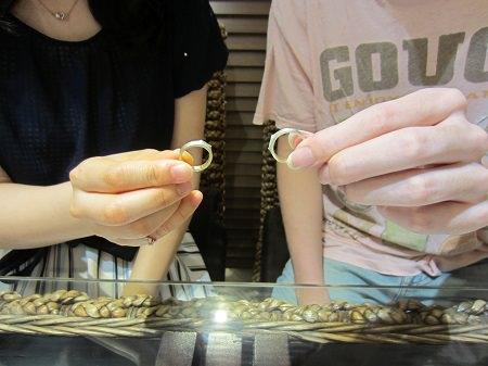 17070901木目金の婚約指輪と結婚指輪_A002.JPG