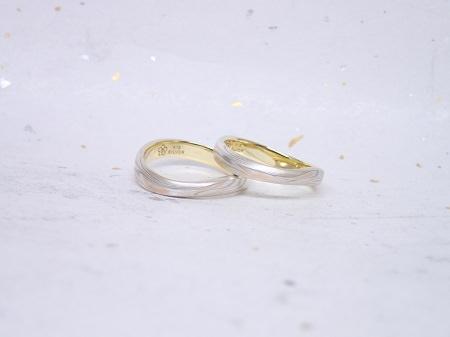 17070901木目金の婚約指輪と結婚指輪_A004.JPG
