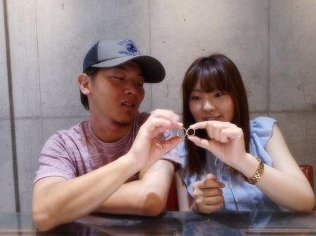 17073001木目金の結婚指輪_U001.JPG