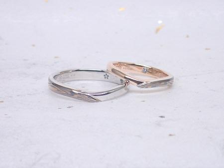 17073001木目金の婚約指輪と結婚指輪D_005.JPG