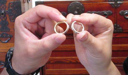 17073001木目金の結婚指輪_M001.JPG