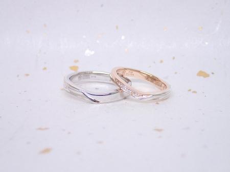 17092401木目金の婚約・結婚指輪 K_003.JPG