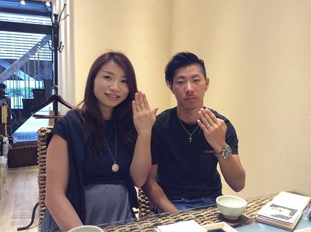 17100802木目金の結婚指輪R_004.JPG