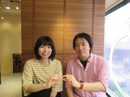 17100802木目金の結婚指輪_J001.JPG