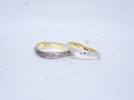 17100803木目金の結婚指輪_B004.JPG