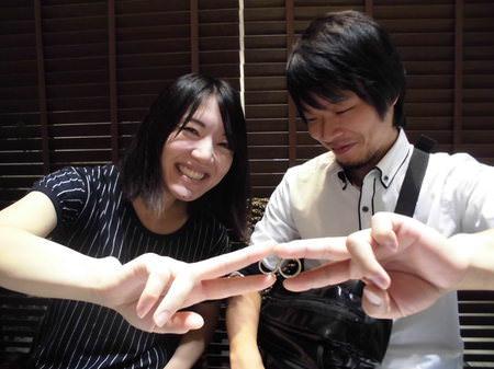 17101505木目金の結婚指輪_U001.JPG