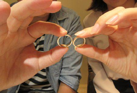 17102103木目金の婚約・結婚指輪_N001.JPG