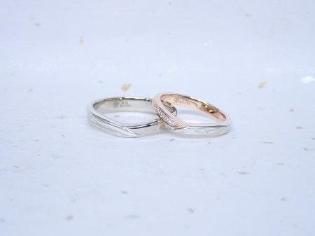17102902木目金の結婚指輪_H001.JPG