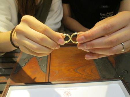 17102902木目金の結婚指輪K_001.JPG
