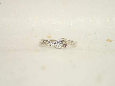 17111801木目金の婚約指輪と結婚指輪_A003①.JPG